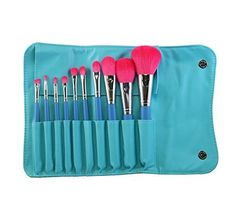 Morphe 10 Piece Vegan Makeup Brush Set Set 680 *** Check this awesome product by going to the link at the image. (This is an affiliate link) Makeup Brush Holders, Makeup Brush Set, Makeup Kit, Makeup Tools, Free Makeup, Best Morphe Brushes, Best Makeup Brushes, Best Makeup Products, Beauty Products