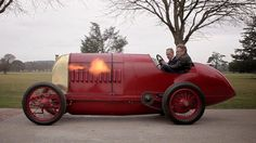 This unbelievable Fiat S76, the so-called Beast of Turin, is the one surviving example of a pair of speed-record contenders the Italian automaker built before WWI. Its gargantuan 28.5-liter ...