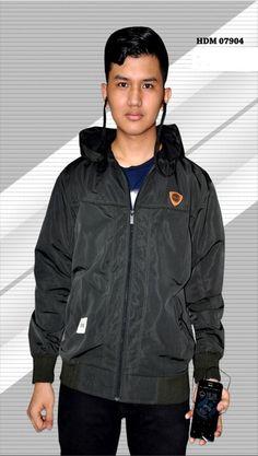 Jacket Parasut Earphone HDM07904