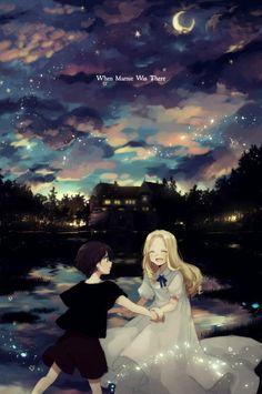 Erinnerungen an Marnie Hayao Miyazaki, Art Studio Ghibli, Studio Ghibli Movies, Anime Gifs, Anime Manga, Anime Nerd, Erinnerungen An Marnie, Film Animation Japonais, When Marnie Was There