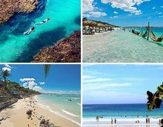 As praias mais bonitas do Brasil