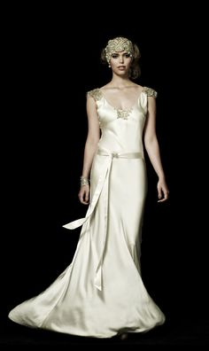 Johanna Johnson 2013 Bridal - The Susannah