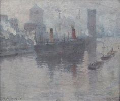 Pierre Adolphe Valette Manchester Ship Canal - The Largest Art reproductions Center In Our website. Low Wholesale Prices Great Pricing Quality Hand paintings for salePierre Adolphe Valette Great Paintings, Beautiful Paintings, Oil Paintings, Urban Landscape, Landscape Art, Landscape Paintings, Landscapes, French Impressionist Painters, Manchester Art