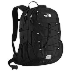 The North Face Equipment Backpacks BOREALIS BACKPACK ($89) ❤ liked on Polyvore featuring bags, backpacks, black, backpacks bags, black rucksack, the north face daypacks, rucksack bag and black backpack