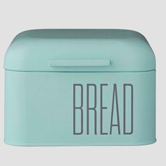 Mint Metal Bread Box