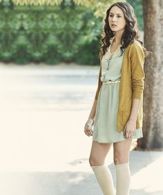 Spencer Hastings!  This is my favourite outfit that was on the show ever. Just, wow.