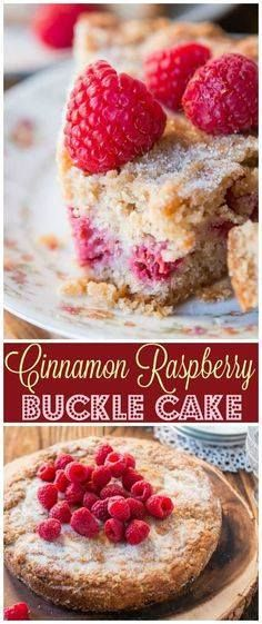 I love finding old f I love finding old fashioned favorite...  I love finding old f I love finding old fashioned favorite family recipes that you may have grown up eating at Grandmas house like this Cinnamon Raspberry Buckle Cake. via Sweet Basil Recipe : http://ift.tt/1hGiZgA And @ItsNutella  http://ift.tt/2v8iUYW