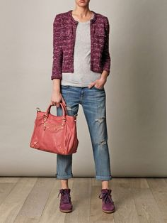 Isabel Marant  Balanciaga And jacket without dots love the jacket love the  color and shoes absolutely stunning the whole oufits is great 93e6e4fd9b