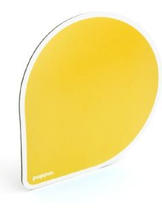 Poppin Yellow Mouse Pads, 12 count ❤ Poppin