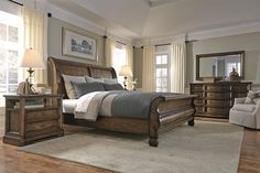 Montebella Queen Bedroom Group by Bernhardt