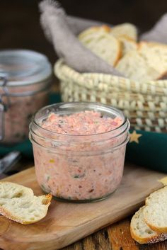 Salmon Rillettes This Salmon Rillettes is a totally delicious mixture of poached salmon, peppery smoked salmon, a lot of spiciness, and a little butter.