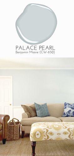 New Living Room Grey Walls Blue Benjamin Moore Ideas Blue Grey Walls, Blue Gray Paint, Light Blue Walls, Blue Wood, Room Paint Colors, Paint Colors For Home, House Colors, Living Room Paint, Living Room Grey
