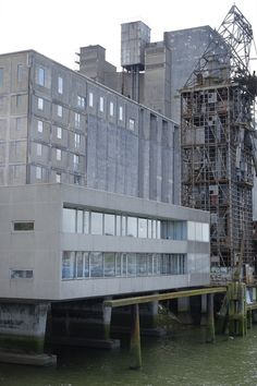infiniteinterior:  rotterdam, graansilo maashaven; office building and two residences, 1963, architect: herman haan (by Jörn Schiemann)