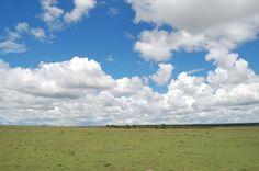 clear skies at Mara.