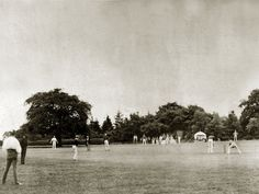 Earliest known photo of a cricket match- 1857