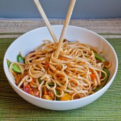 Forgotten Veggie Spicy Udon Noodle Bowl | Neighborfood