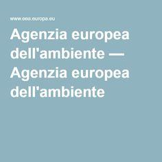 Agenzia europea dell'ambiente — Agenzia europea dell'ambiente