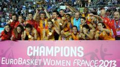 #España vuelve a reinar en el viejo continente tras proclamarse campeona del #Eurobasket femenino y someter a #Francia, la actual subcampeona olímpica. Las chicas de #Mondelo son un ejemplo de superación. #Heroínas de oro.