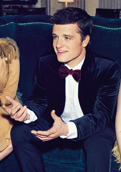 Just Josh Hutcherson. In a bowtie.