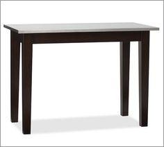 BAR HEIGHT-- 26wx52lx37h  $699  Balboa Bar Table   Pottery Barn