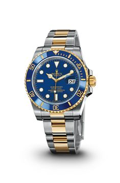 ROLEX SUBMARINER DATE WATCH IN STEEL AND YELLOW GOLD - ROLEX Timeless Luxury Watches