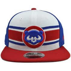 Chicago Cubs Cooperstown 9FIFTY Stripe Snapback Hat by New Era 30596dadd87