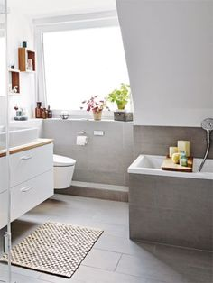 Bathroom Styling Dream bathroom for the whole family Wohnen, . Bathroom Styling Dream bathroom for the whole family Wohnen, The Nordroom - 25 inspiring bathroo. Gold Bathroom, Modern Bathroom, Small Bathroom, Master Bathroom, Bathroom Ideas, Design Bathroom, Diy Bathroom, Minimal Bathroom, Shower Bathroom