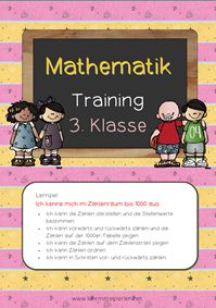 Lernzieltraining 3. Klasse: 5 Hefte