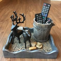 Rustic+Look+for+Thrift+Store+Tray
