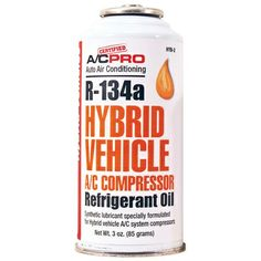 Automotive oil charge for the A/C system for hybrid vehicles only. Go Green! JB Tool Sales