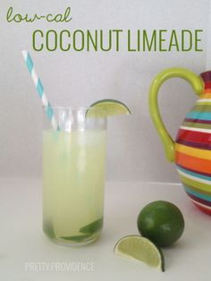 ... limeade low cal coconut limeade everyone asks me how i make this