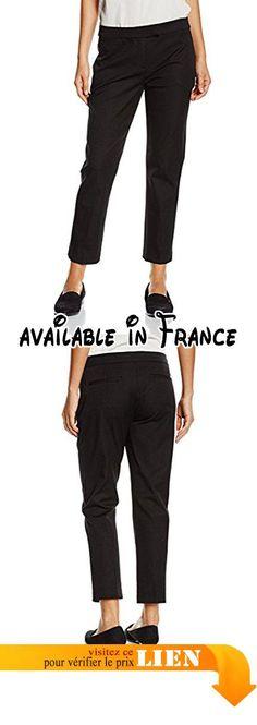 Tommy Hilfiger Sadie T7 WL Pant, Pantalon Femme, (Masters Black), 40 (Taille Fabricant: 8)