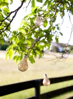 glitter decorations outdoor