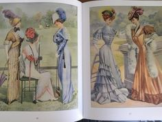 Edwardian fashion illustrations