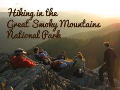 Hiking in The Smokies Smoky Mountains Gatlinburg