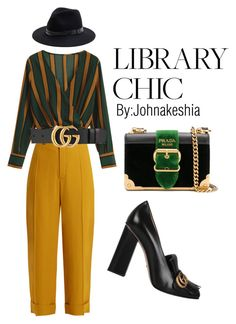 """""""Library Chic"""" by style-spy on Polyvore featuring Chloé, Prada, Gucci and Sole Society"""