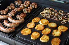 Traditional Kiwi Barbecue - Weber - New Zealand Barbecue Recipes, Grilling Recipes, Pork Recipes, Aussie Bbq, Aussie Food, Australian Bbq, Australian Recipes, Weber Q Recipes, Barbecue Weber