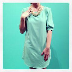 New Arrivals :: Spring Spree Tunic Dress, $44 xoxo