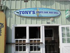 Tony's Sports Bar and Grill | Oceanside Harbor