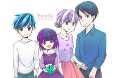 [MLP] Twilight's Family Humanization by Foxmi.deviantart.com on @deviantART