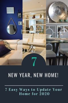 New Year, New Home! 7 Easy Ways to Update Your Home for 2020