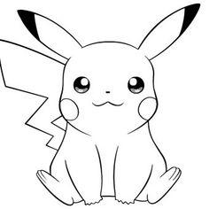Looking for a Pikachu Coloring Pages. We have Pikachu Coloring Pages and the other about Play Kids it free. Pikachu Coloring Page, Pokemon Coloring Pages, Cartoon Coloring Pages, Coloring Pages To Print, Free Coloring Pages, Printable Coloring Pages, Coloring Books, Pikachu Pikachu, Pikachu Kunst