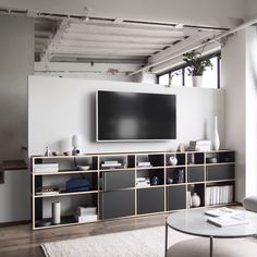 TV Stands that are the center of attention A TV Stand that suits your space, screen and storage needs is easy with Tylko. Home Decor Furniture, Modern Furniture, Furniture Design, Tv Wall Furniture, Indian Living Rooms, Living Room Tv, Dining Room, Modern Bedroom Design, Home Office Design