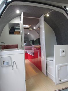 Campervan bathroom