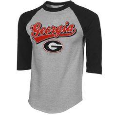 Georgia Bulldogs Raglan T-Shirt