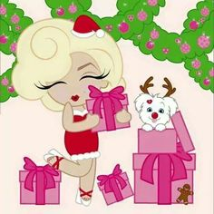 Happy Christmas Mini Marilyn!