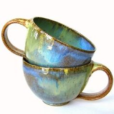 japanese raku modern tea cups!