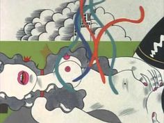 Keiichi Tanaami - The Bride Stripped Bare by Her Bachelors (1975)