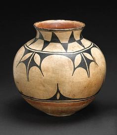 Santo Domingo (New Mexico), Olla, paint/ceramic, c. late 19th c.