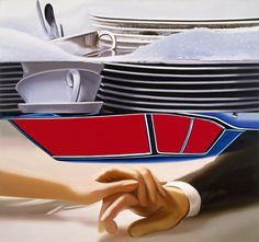James Rosenquist helped define Pop Art in its heyday with his boldly scaled painted montages of commercial imagery. Artist Painting, Painting & Drawing, James Rosenquist, Die Eifel, Pop Art Movement, Claes Oldenburg, Roy Lichtenstein, Cultura Pop, Painted Signs